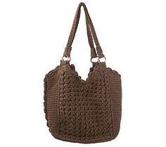 The Sak. Crochet Double Handle Tote. This boho-inspired bag is just $34! I just bought one and it is amazingly cute and very good quality. Comes in black also.