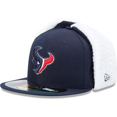 8274b194148 Men s New Era Houston Texans On Field Dog Ear 59FIFTY® Football Structured Fitted  Hat -