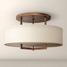 Hinkley Porter 12 Quot Wide Heritage Brass 4 Light Ceiling