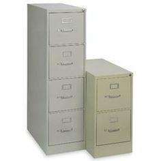 MBI Vertical Files - Light gray by MBI. $192.00. Welded steel MBI Vertical File cabinets have full-extension drawers with high sides to accommodate hanging folders. Adjustable follower block in drawers keeps files upright. Steel ball-bearing slide suspension. Single lock secures all drawers; includes 2 keys. Drawers have label holders and center handles with thumb latch. Powder coat finish.