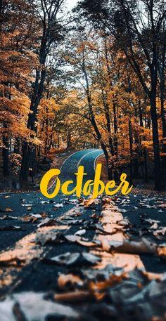 October (Fall) Wallpaper #octoberwallpaper