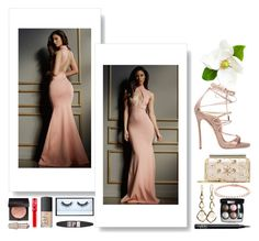 """Autumn Wedding"" by smileforsierra ❤ liked on Polyvore featuring Lurelly, Dsquared2, Oscar de la Renta, Ippolita, Chanel, NARS Cosmetics, Huda Beauty, Maybelline, Laura Mercier and Lime Crime"