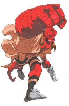 Hellboy by Rob Haynes