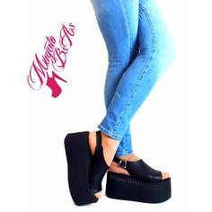 Zapatos Sandalias Con Flecos Plataforma Moda Verano 2017 - $ 849,00 en Mercado Libre