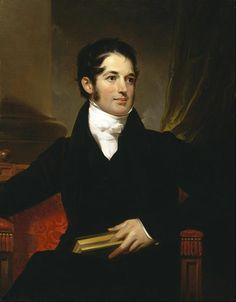 Portrait of James Cornell Biddle - 1841 by Thomas Sully The Museum of Fine Arts, Houston