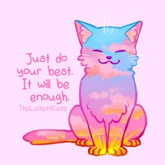 Cute Animal Illustrations Merged With Powerful Motivational Quotes Inspirational Animal Quotes, Cute Animal Quotes, Powerful Motivational Quotes, Cute Quotes, Positive Quotes, Cute Animals, Motivational Pictures, Cute Animal Drawings, Cute Drawings