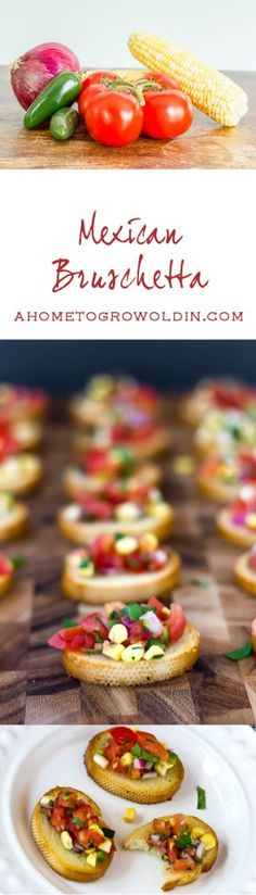 Planning a summer barbecue? Try this easy Mexican bruschetta recipe as an appetizer. It's light and fresh and sure to be a big hit at your party