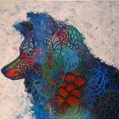 Video on Katrina Canedo Art Abstract Wolf, Zentangle, Ava, Art Projects, Painting, Ideas, Art Designs, Zentangles, Art Crafts