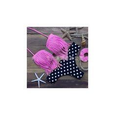Fringed Strapless Bikini ($9.90) ❤ liked on Polyvore featuring swimwear, bikinis, women, pink fringe bikini, strapless bikini, fringe swimwear, pink swimwear and bikini swimwear