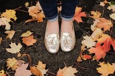 Sequin Loafers.. A Must This Fall!