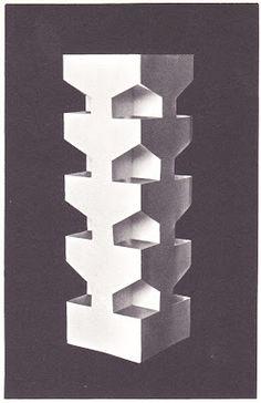 Ernst Röttger: Werkstoff Papier. Otto Maier Verlag Ravensburg 1964. From the series Das Spiel mit den bildnerischen Mitteln.