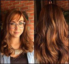 25 Caramel, Violet & Cinnamon Brown Hair Color Ideas | Einfache Frisuren
