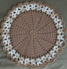 Crochet Placemat Patterns, Crochet Coaster Pattern, Crochet Mandala Pattern, Christmas Crochet Patterns, Crochet Flower Patterns, Crochet Stitches Patterns, Crochet Doilies, Crochet Flowers, Crochet Geek