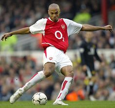 thierry henry, one of the best, and certainly my favorite, strikers of all time.