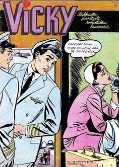 Vicky (1957-1964) oli tyttöjen romanttinen sarjakuvalehti