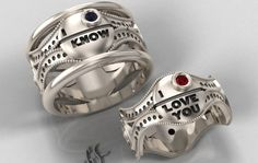 Star Wars Engagement Rings