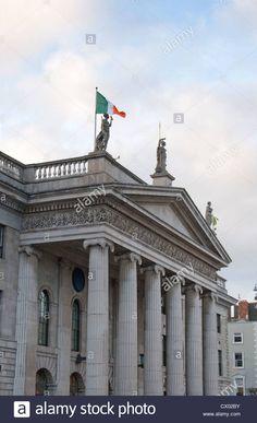 General Post Office Dublin Ireland Stock Photo