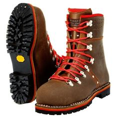 Tougher than any Army boot - Pfanner Tirol juchten Rugged Style, Tall Boots, Shoe Boots, Style Brut, Mountaineering Boots, Boots And Leggings, Trekking Shoes, Black Nike Shoes, Mens Boots Fashion