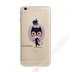 3132f93f90b Carcasa personalizada trasparente diseño Catwoman para iPhone 7. Fundas  Para CelularPersonalizarTransparenteCapasAccesoriosDisenos ...