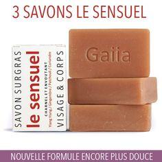 3 SAVONS SURGRAS / LE SENSUEL