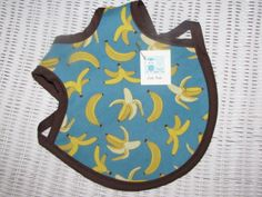 Banana Bib (perfect for any little monkey!) by Little Pickle www.facebook.com/Little.Pickle.Store