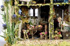 enchanted fairies | Enchanted Woodland Fairy Dollhouse 6 Graphics Code | Enchanted ...