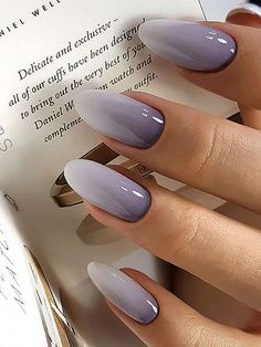 20 trendy winter nail colors & design ideas for 2019 - the .- 20 trendige Winter-Nagelfarben & Design-Ideen für 2019 – TheTrendSpotter – # 20 trendy winter nail colors & design ideas for 2019 – thetrendspotter – # - Colorful Nail Designs, Fall Nail Designs, Nail Color Designs, Nails Design Autumn, Colorful Nail Art, Hair And Nails, My Nails, Oval Nails, Nagellack Trends