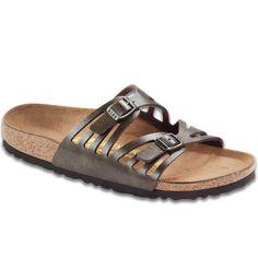 Birkenstock Women's Granada (N) Golden Brown Sandals