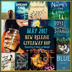 The Eater of Books!: May 2017 New Release Giveaway!  http://eaterofbooks.blogspot.com/2017/05/may-2017-new-release-giveaway.html