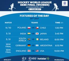 SA vs Ireland – Let the games begin! 💪🏼🔥 Catch our ladies in their second to last match of today at 🏑👌🏼🇿🇦🇿🇦 Women's Hockey, Hockey World, Germany Vs Argentina, Semi Final, African Women, Ireland, Sport, Games, Deporte