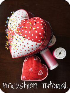 cookie cutter pincushion how to