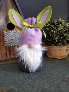 Check out this item in my Etsy shop https://www.etsy.com/listing/576727466/scandinavian-easter-bunny-gnome-nordic