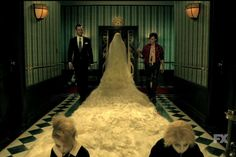 It's a glorious gothic nightmare come true! First AHS Hotel trailer showing the whole cast!