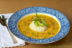 Thai Butternut Coconut Curry Soup