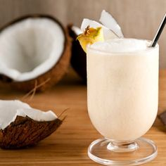 Savor the tropics with this coconut banana smoothie.