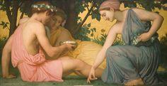 Spring (Le printemps), 1858, William Adolphe Bouguereau