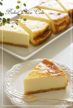 水切りヨーグルト濃厚ベイクドチーズケーキ by nyonta [クックパッド] 簡単おいしいみんなのレシピが262万品