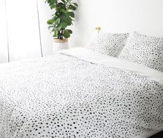 Dots duvet cover set - Crisp Sheets
