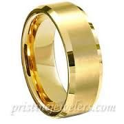 male gold wedding bands - Google Search