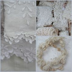 French antique lace Collage ~ Cory Amaro