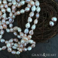 Order our Luster pearls, get the matching pearl studs free in January! mygraceandheart.com/suegilbert