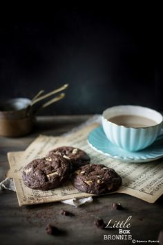 gooey double chocolate chip cookies {guest post}