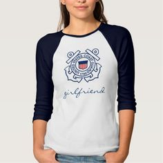 Coast Guard Girlfriend T Shirt, Hoodie Sweatshirt