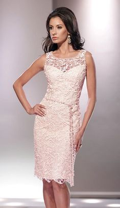 Social Occasions by Mon Cheri 114813 Lace Mother of the Bride Dress image