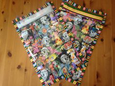 Los Muertos Owlet-On-The-Go Table Mat by WhisperingOwlets on Etsy