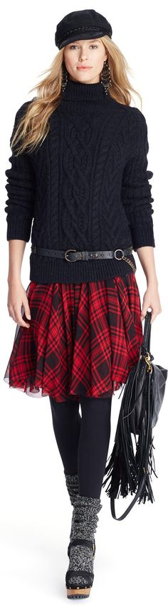 Ralph Lauren women fashion outfit clothing style apparel @roressclothes closet ideas