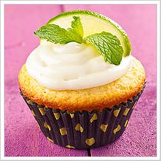 Mojito Cupcakes= heaven!   These fresh perfections was one of the greatest cupcakes I have ever made. Although, I did make a slight modification that catered to my preference with baked goods. I used almond flour, instead of all-purpose flour. I enjoy using non-wheat products as often as possible; it help makes the majority of your dishes lighter.   Enjoy!   ~ M.M