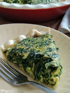 Cookie's Cheddar and Spinach Quiche #Thermomix Recipe - http://bit.ly/21seIOB
