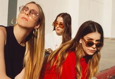 I Think Haim is Responsible for My Sunglasses Addiction - Man Repeller