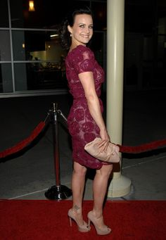 "Carla Gugino Photos: ""Girl Walks Into a Bar"" Premiere."